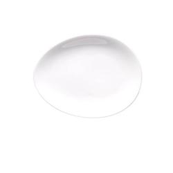 Colani Teller Luigi Colani Teller / ab ovo, (1 Stück) weiß