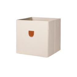 Regalbox ¦ beige ¦ Pappe, Polyester ¦ Maße (cm): B: 34 H: 34 T: 34