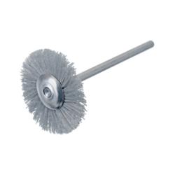 Rundbürste / Miniaturbürste Nylon-Diamant K400 Ø17x2,34 VPE: 2