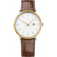 Tommy Hilfiger James Leder 40 mm 1791340