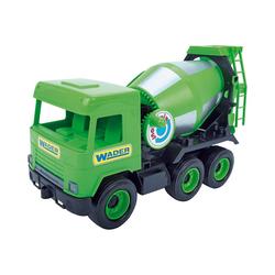 Wader Wozniak Outdoor-Spielzeug Middle Truck Betonmischer, 38 cm, rot grün