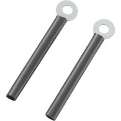 TRU Components TC-CWR3-52203 Kabelhalter schraubbar 1593086 Schwarz