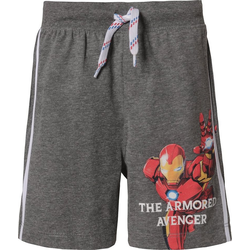 The AVENGERS Shorts Marvel Avengers Shorts für Jungen grau 104