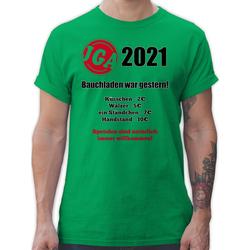 Shirtracer T-Shirt Bauchladen war gestern! 2021 - JGA Junggesellenabschied Männer - Herren Premium T-Shirt XL