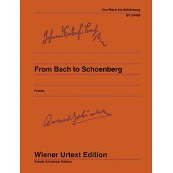 From Bach to Schönberg