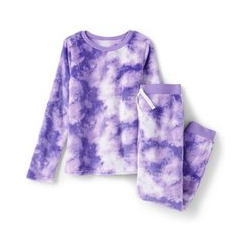 Pyjama-Set aus Plüsch-Fleece - 140/146 - Lila
