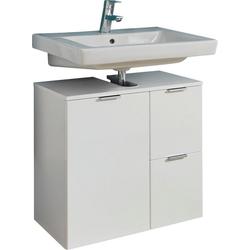 trendteam Waschbeckenunterschrank Concept One Breite 60 cm weiß