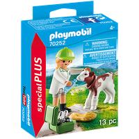 Playmobil Special Plus Tierärztin mit Kälbchen
