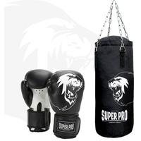 Super Pro Boxsack schwarz