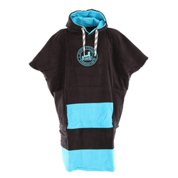 ALL-IN X WH1 V BUMPY Poncho black/turquoise