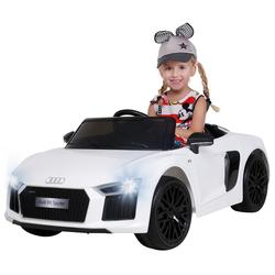Actionbikes Motors Spielzeug-Auto Kinder Elektroauto Audi R8, inkl. Fernbedienung weiß