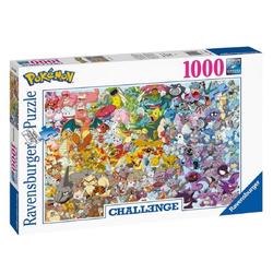 Ravensburger Puzzle Pokémon Puzzle Pokémon Challenge (1000 Teile) von Ravensburger, Puzzleteile