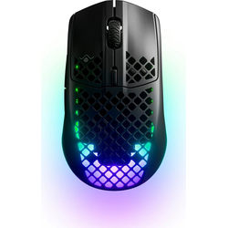 SteelSeries Aerox 3 Wireless Black Gaming Mouse Aerox 3 Wireless Black Gaming-Maus (AquaBarrier Schutz)