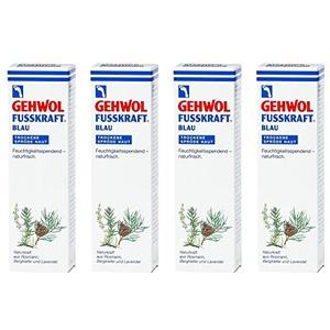 4x GEHWOL FUSSKRAFT BLAU 125 (500 ml)