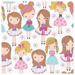 STAR Geschenkpapier, Geschenkpapier Kinder 70cm x 2m Rolle rosa