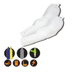Schutz�rmel aus Rindnarbenleder