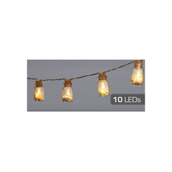 HTI-Living LED-Lichterkette LED Lichterkette 10er Candy