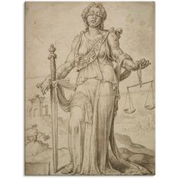Artland Wandbild Justitia., Frau (1 Stück) 60 cm x 80 cm