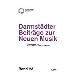 Darmstädter Beiträge zur Neuen Musik - Buch