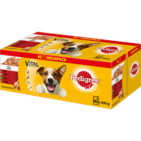 Pedigree Multipack Adult in Gelee 40 x 100 g