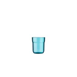 Mepal Becher Glas Kinder-Trinkglas Mepal Mio (1-tlg) blau