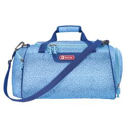 Step by Sporttasche, Schultertasche blau Kinder Sporttaschen Sport- Freizeittaschen Sporttasche