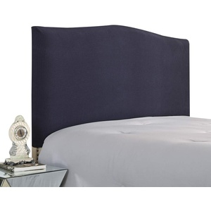 WINS Bett Kopfteil Hussen Stretch Bett Kopfteil Abdeckung Bettkopfteil Bezug staubdicht Kopfteilbezug Schlafzimmer Dekor Dunkelgrau