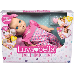 Spin Master Babypuppe Spin Master 6047317 - Luvabella - interaktive Baby Puppe (43 cm)
