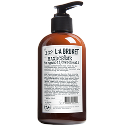 L:A BRUKET No.102 Hand Cream Bergamont/Patchouli 250 ml