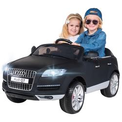 Kinder Elektroauto AUDI Q7 4L Kinderauto Elektrofahrzeug Elektro Auto Spielzeug (Rot lackiert)