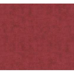 A.S. Création Vliestapete Neue Bude 2.0 Uni in Vintage Optik, uni rot