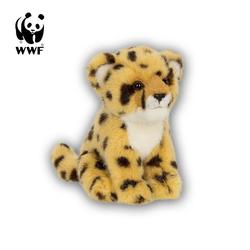 WWF Plüschfigur Plüschtier Gepard (sitzend, 15cm)