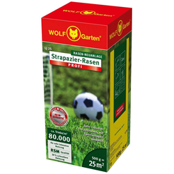 WOLF-Garten Rasensamen LJ 25 Strapazier-Rasen PROFI, 0,5 kg