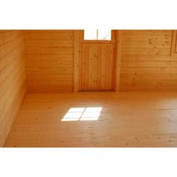 Palmako Gartenhaus Bret 14,8 m² Fußboden