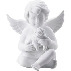 Rosenthal Engelfigur Engel mit Hund (1 Stück) 12,6 cm x 14,7 cm x 8,9 cm