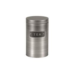 Michelino Teedose Teedose Vorratsdose Silber, Metall, (1-tlg)