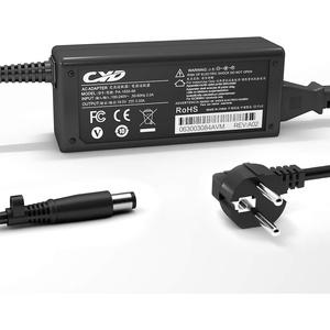 QYD 18.5V 3.5A 65W ladegerät Notebook Netzteil für HP Pavilion G50 G5 G6 G7 DV7 G6-1013SA N17908 6735S ProBook 430 G1 G2 440 G1 450 G1 HP 250 255 G Presario CQ71 Laptop Ladekabel Power AC Adapter