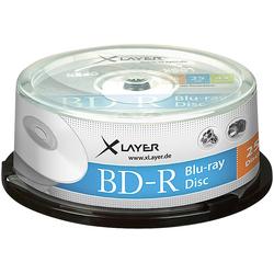 Blu-ray-Rohlinge BD-R 25 GB 4x, 25er-Spindel