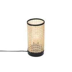 Ländliche Tischlampe Rattan - Kata