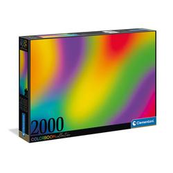 Clementoni® Puzzle Colorboom Gradient 2000 Teile Puzzle, Puzzleteile bunt
