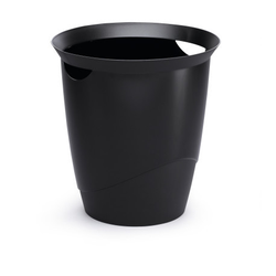 Papierkorb Trend schwarz
