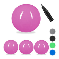 4 x Gymnastikball, Yogaball groß Ball Schwangerschaft Sitzball Büro pink 85 cm
