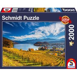 Schmidt Spiele Puzzle Weinberge, 2000 Puzzleteile