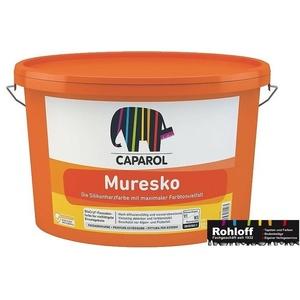 3 X Caparol Muresko Silac 12.5l Siliconharzfarbe Filmschutz G. Algen Pilzbefall