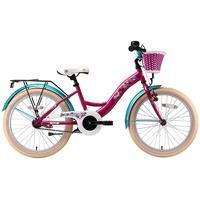 Bikestar Classic 20 Zoll RH 29 cm bezaubernd berry/karibisch türkis