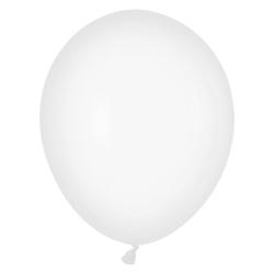 Luftballons weiß Ø 250 mm, Größe 'M', 10 Stk.
