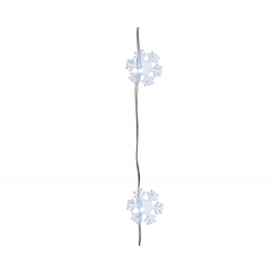 Lichterkette LED SNOWFLAKE