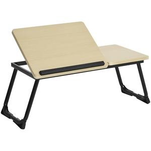 Betttablett Laptoptisch Einstellbare Notebooktisch Höhenverstellbar Betttisch Frühstückstisch,Notebookständer Lese Tisch Schreibtisch Faltbare Beine für Sofa, Bett,Computer,PC