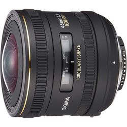 SIGMA 4,5mm 1:2,8 EX HSM Nikon Objektiv