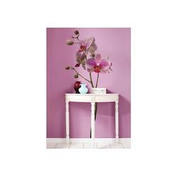 KOMAR Wandtattoo Orchidee lila